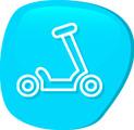 Trotinetas e Triciclos